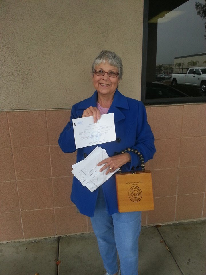Linda passed her Drive Test with Drive Happy!