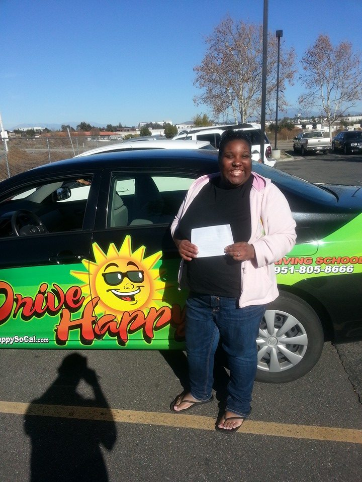 Michelle passed her Drive Test with Drive Happy