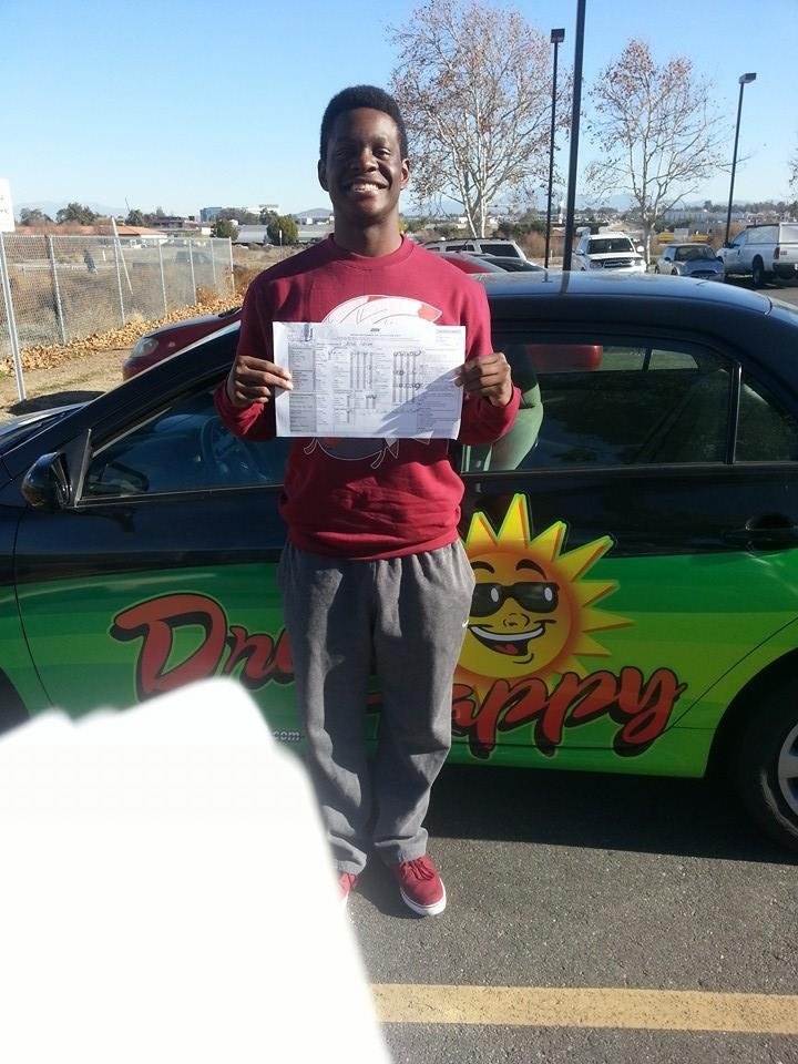 Jared from French Valley passes his Drive Test in Temecula!