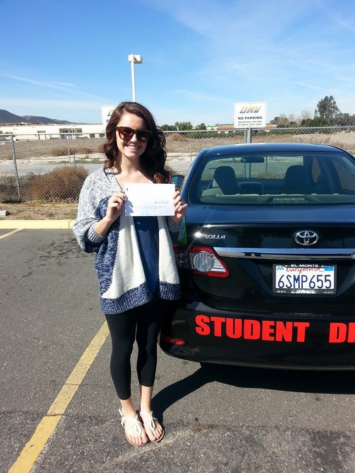 Bailey Passes The Drive Test With Drive Happy!