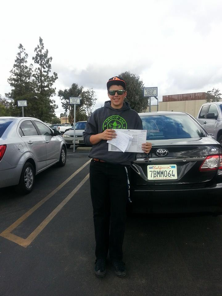 Riley Passes The Drive Test With Drive Happy!