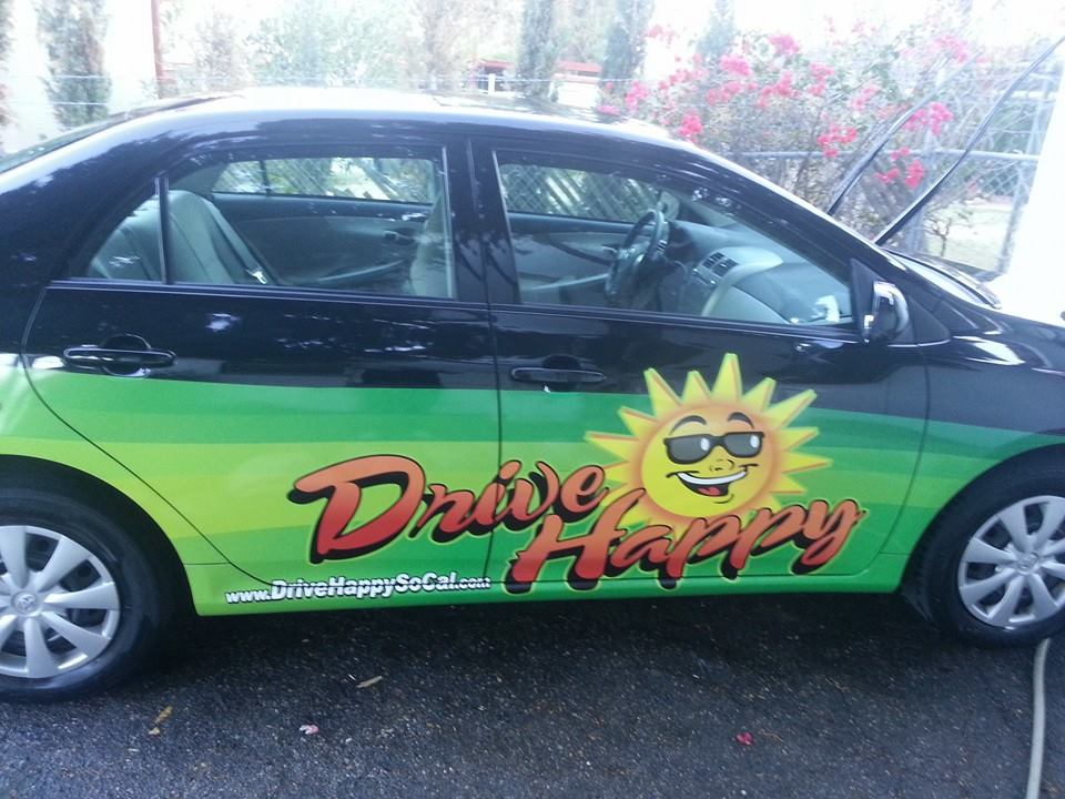 Drive Happy Car clean and pretty!