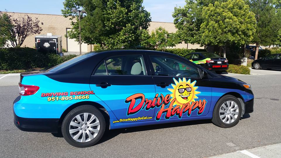 Drive Happy car gets a new look today!
