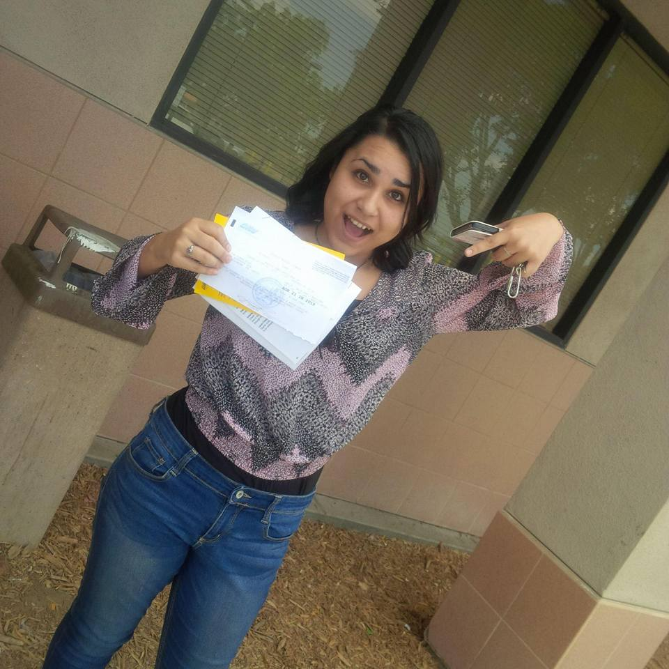 Drive Happy student Karina passes the DMV Drive Test in Temecula!
