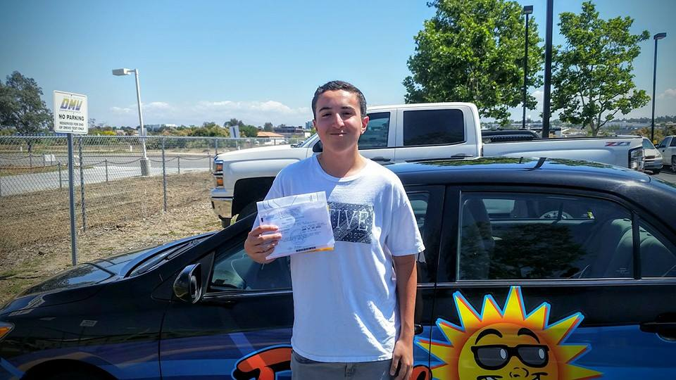 Alex from Murrieta passes the DMV Drive Test in Murrieta with Drive Happy