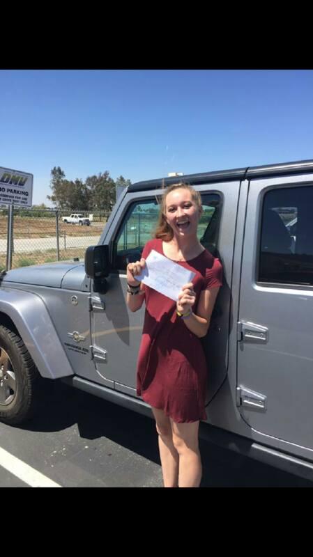 Drive Happy student Emily passes the DMV Drive Test!