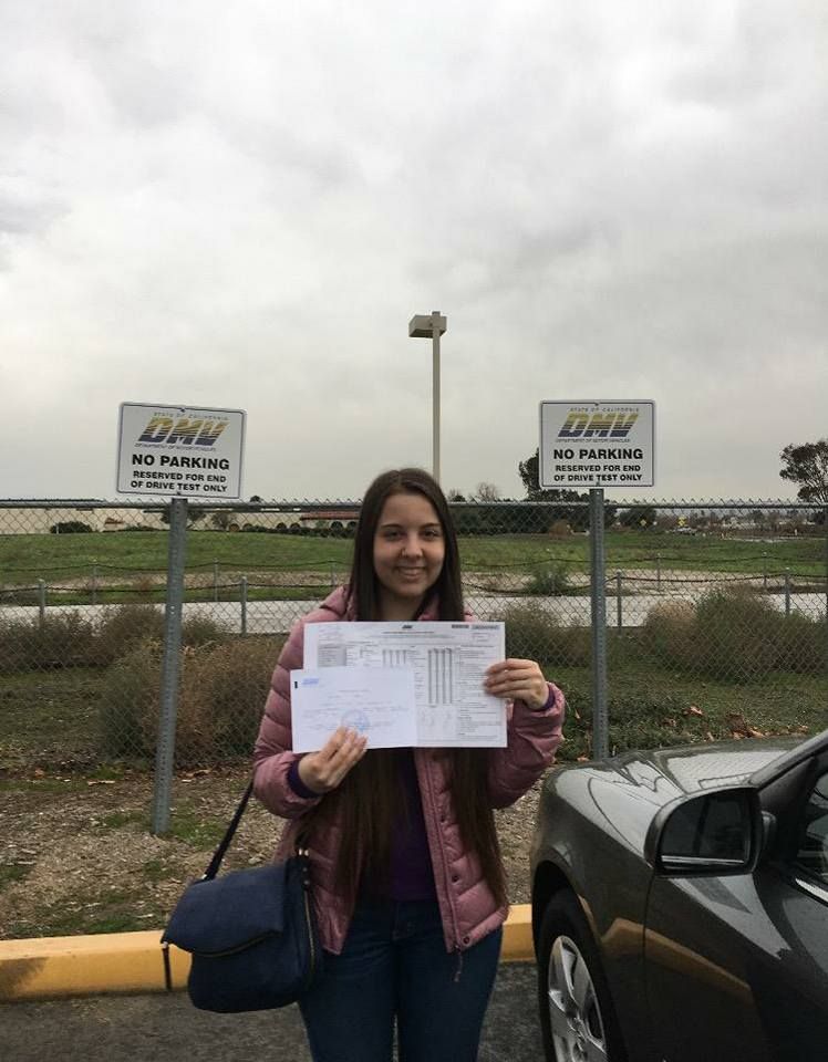 Drive Happy student Sutten passes the Drive Test!