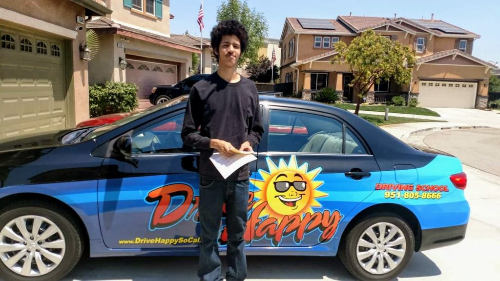 Brian from Murrieta passes the DMV Drive Test with Drive Happy