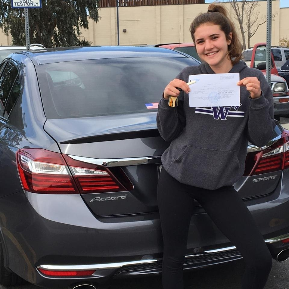 Jessica from Murrieta passes the DMV Drive Test!