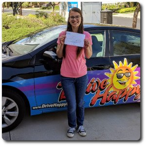 Darya from Corona Passes The DMV Drive Test with Drive Happy